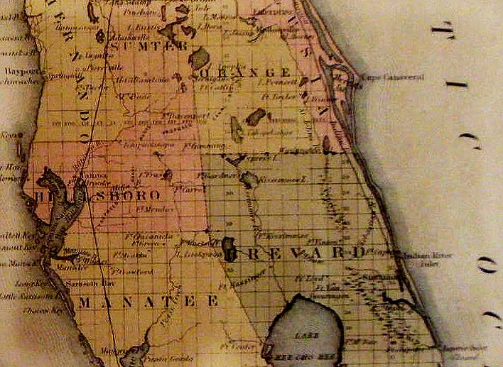 Brevard County Florida Map.Brevard County Florida A Short History To 1955 Historic Images