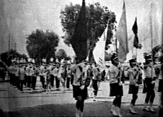 Hurricanes Drum and Bugle Corps marching July 4th 1965